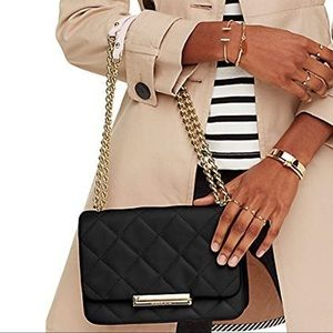 Kate Spade Emerson Place Lawren Black Quilted Bag